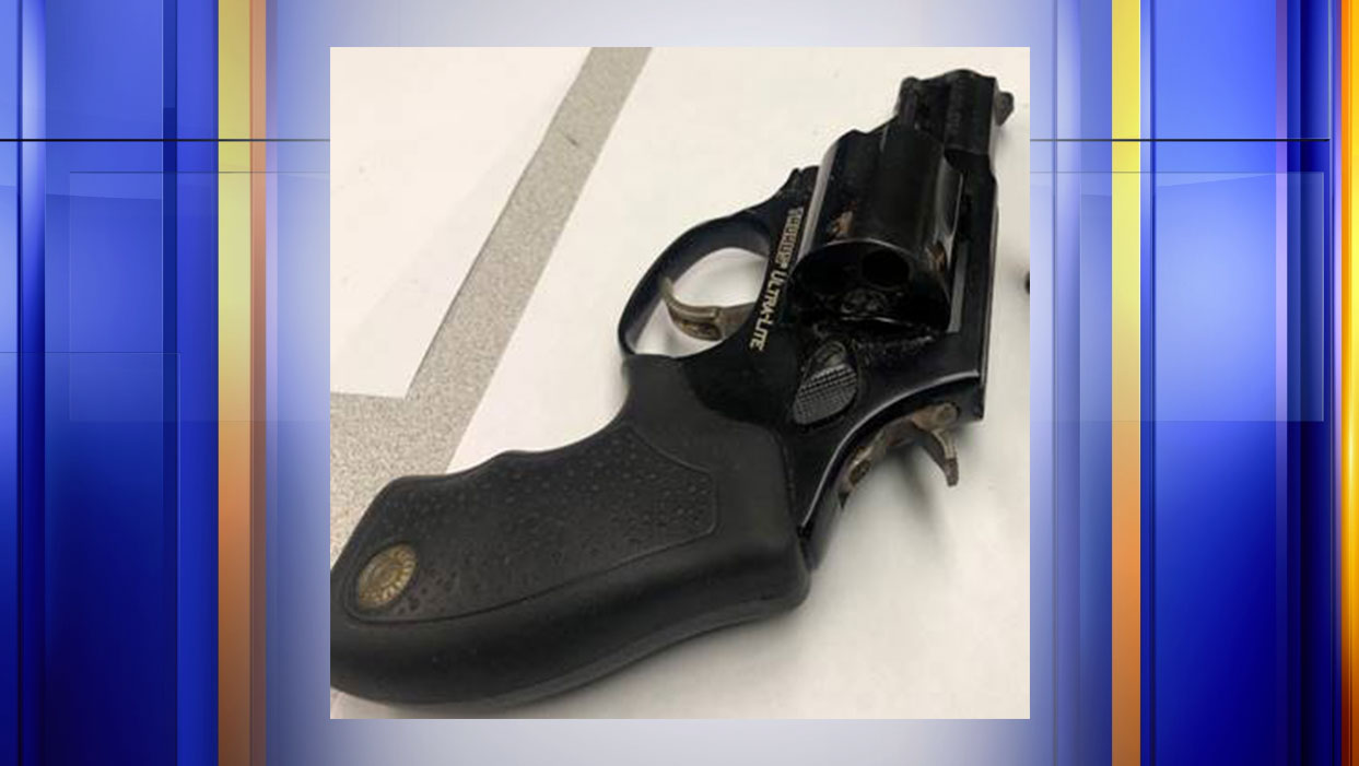 This gun was discovered in a Danville woman's carry-on bag at Lynchburg Regional Airport on Tuesday, Nov. 12. (Photo: Courtesy Transportation Security Administration)