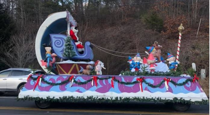 """Local residents organized """"The Greatest Goshen Parade Ever"""" to raise money for a little boy in need. (Photo: Courtesy Anita Bora)"""