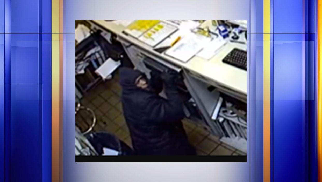 The Lynchburg Police seeks the public help in identifying a suspect in a burglary that occurred at an auto repair shop on Dec. 6.