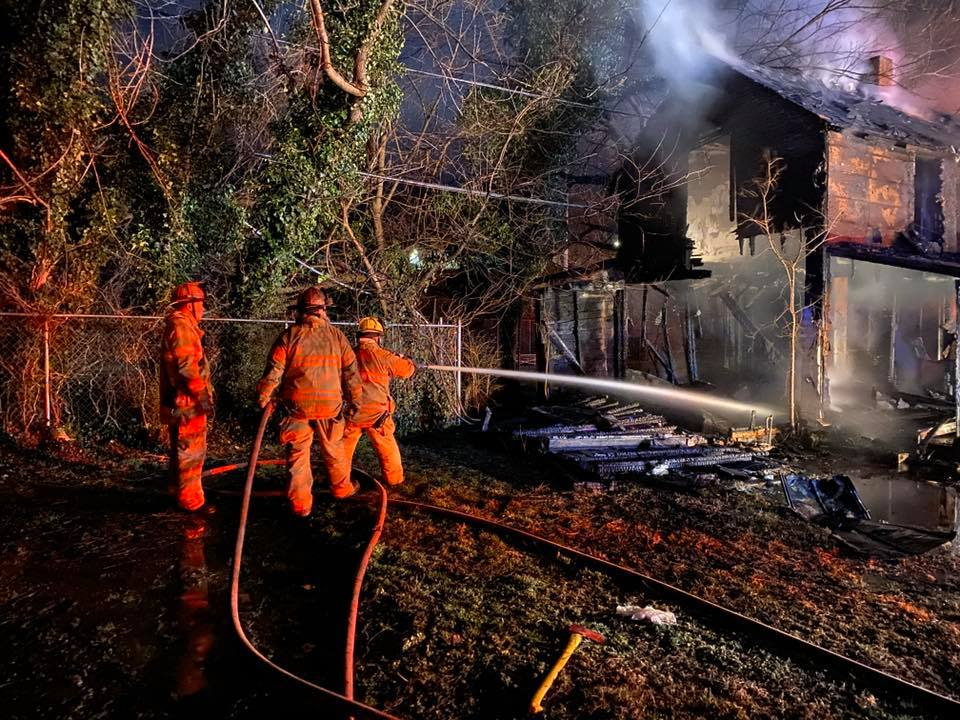 Roanoke firefighters were dispatched to the 200 block of 18th Street SE for a house fire on Sunday, Feb. 16. (Photo: Courtesy Roanoke Fire-EMS Department)