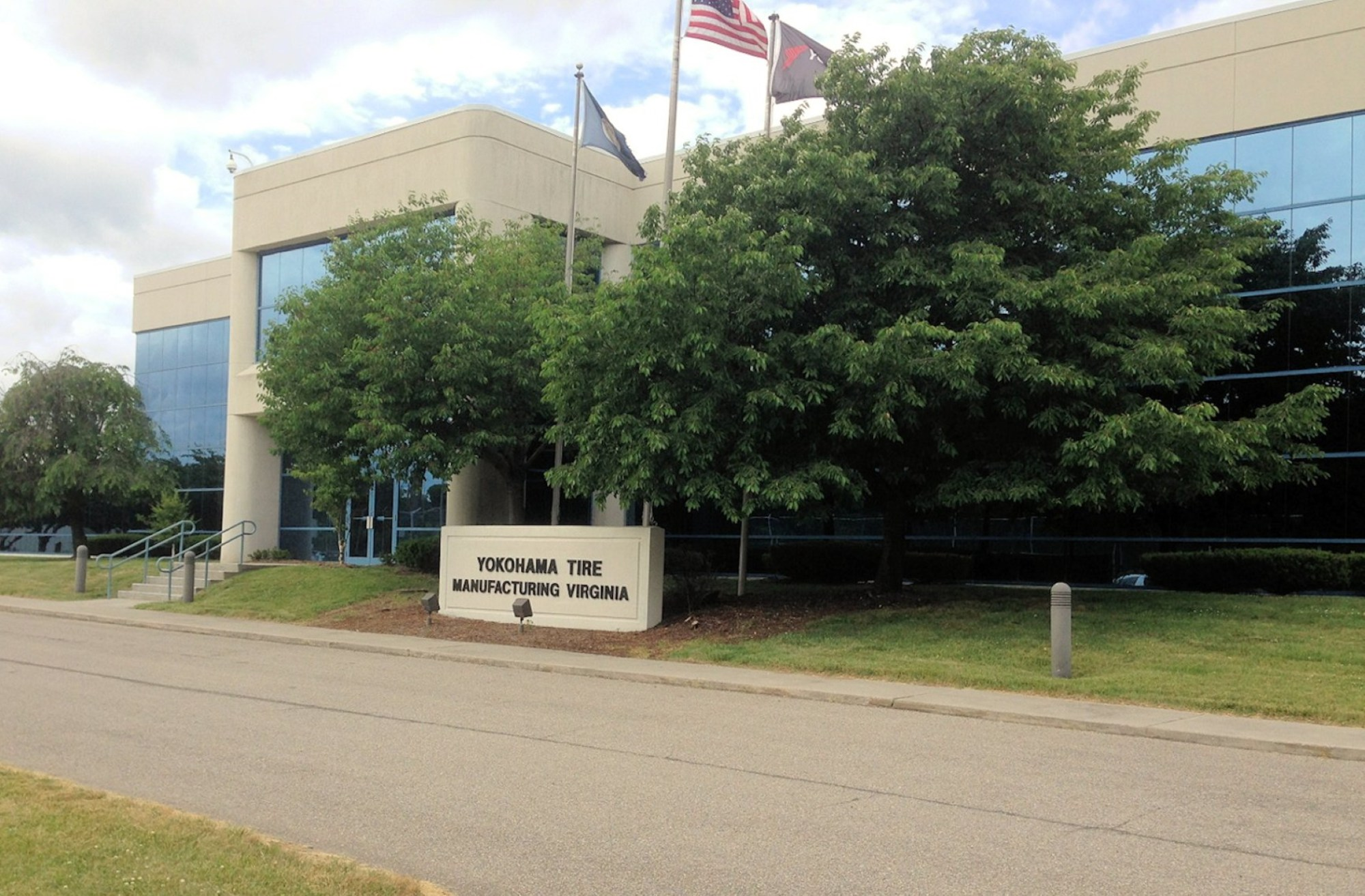 The Yokohama Tire Manufacturing Virginia plant in Salem has suspended production until further notice due to COVID-19. (Photo: Courtesy Bill Groak, Kovel Fuller)