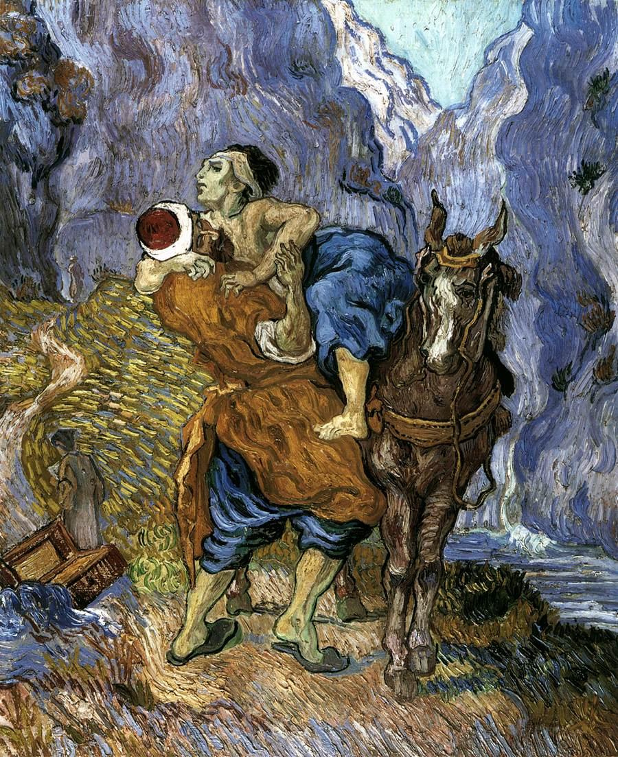 The Good Samaritan (after Delacroix)