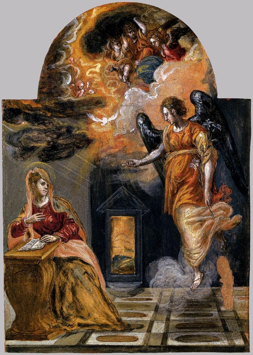 El Greco's Annunciation