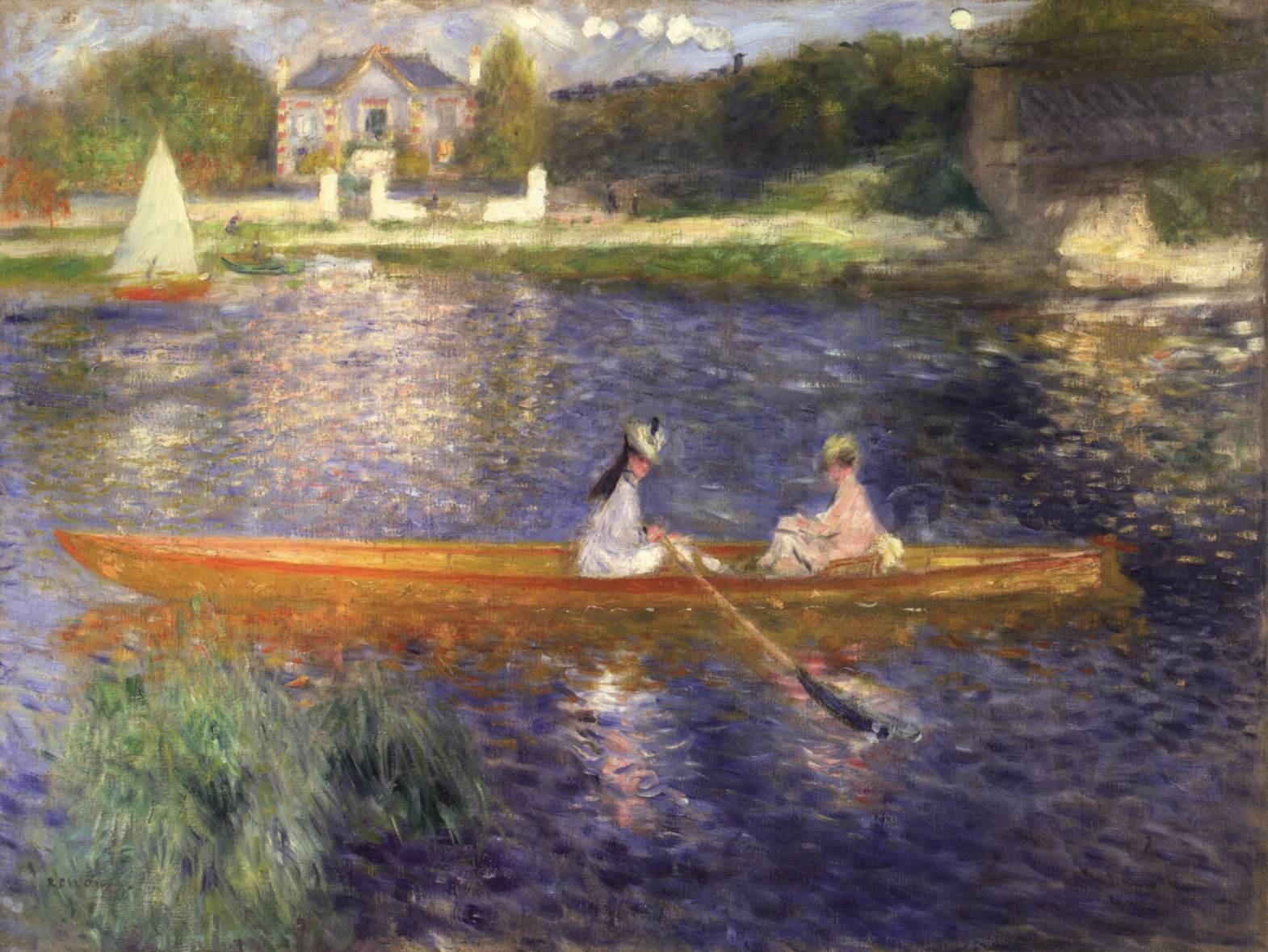Famous 19th Century Impressionist Paintings