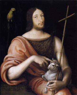 François I as St John the Baptist