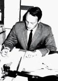 WGBH - Program Manager Bob Larsen, 1962