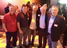 31. Gordon Mehlman, Benny Krol, Scott Davis, Steve Rogers, and Chip Adams