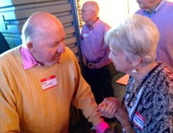 32. Bud Collins and Judy Mehring