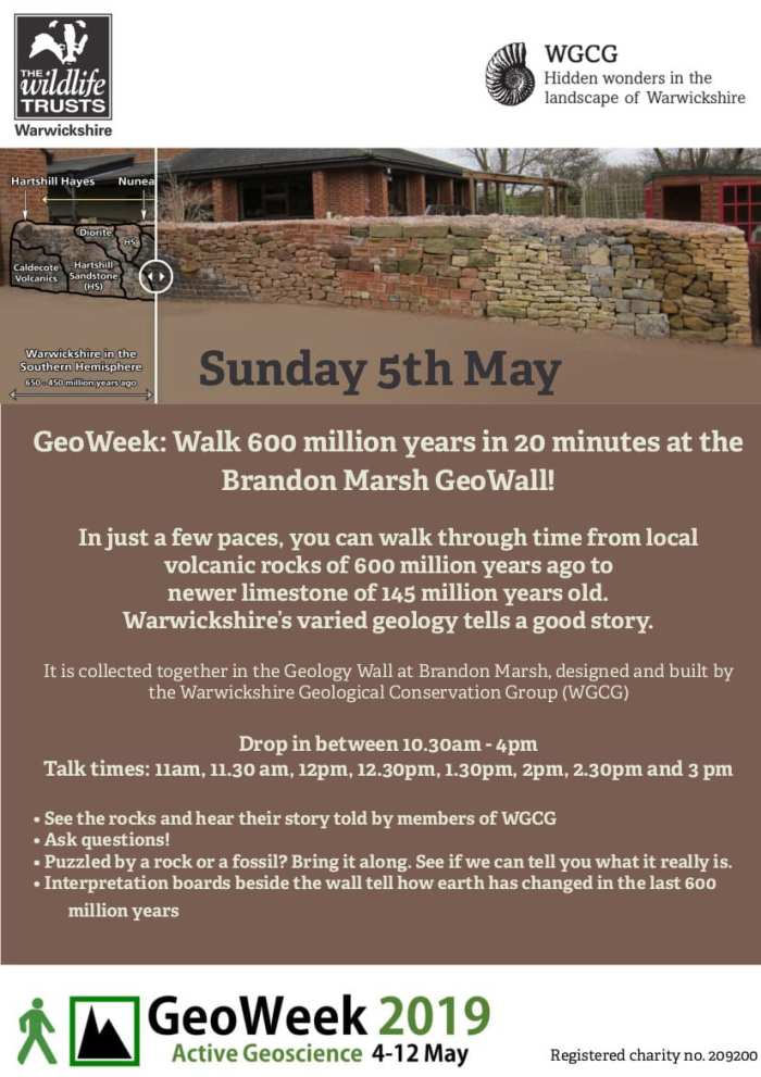 GeoWeek: Walk 600 million years in 20 minutes at the Brandon Marsh GeoWall!