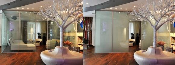 Indoor smart glass