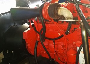 Gerador a diesel Usado 450 KVA