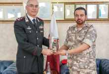 Military Police Commander meets Commanding General of Italy's Carabinieri