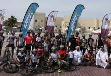 Cycling buffs cross finish line on 511-km Qatar ride
