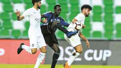 Asadallah strikes late as Al Sadd, Al Sailiya share points