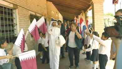 '3839 Marangatu' School renamed 'State of Qatar'