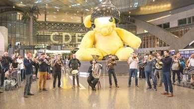 Qatar Philharmonic Orchestra surprises Qatar Airways passengers