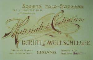 1900 - Primo logo, Bariffi e Wullschleger