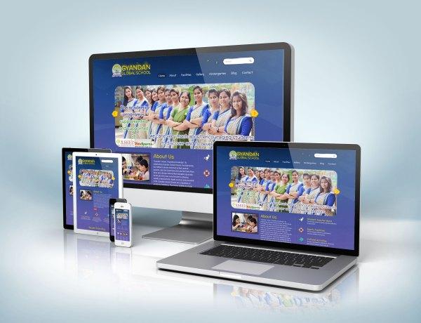 school website design