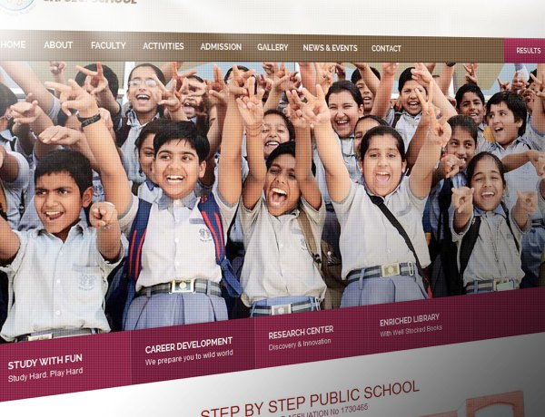 step by step school alwar