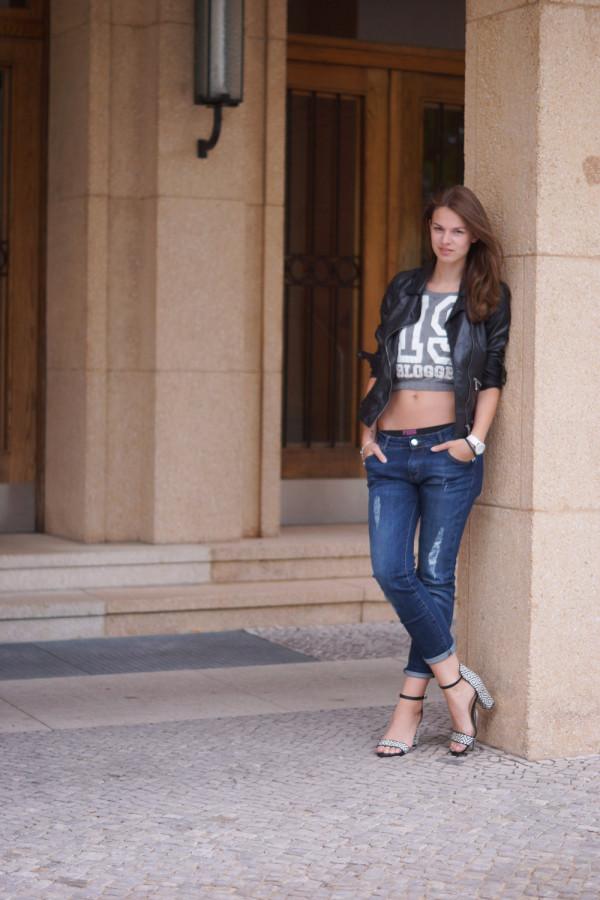 Jeans Boyfriend Winter Shoes Time