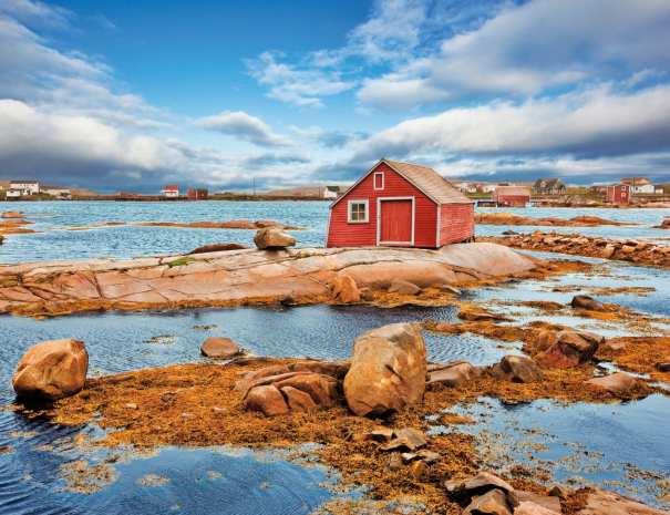 Tilting, Fogo Island, Newfoundland and Labrador, Canada