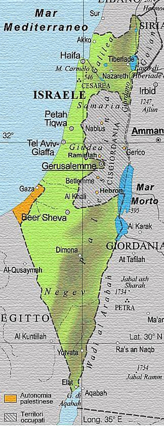 Cartina Israele Fisica.Dopo L Annuncio Di Trump E Di Nuovo Guerra Fra Israeliani E