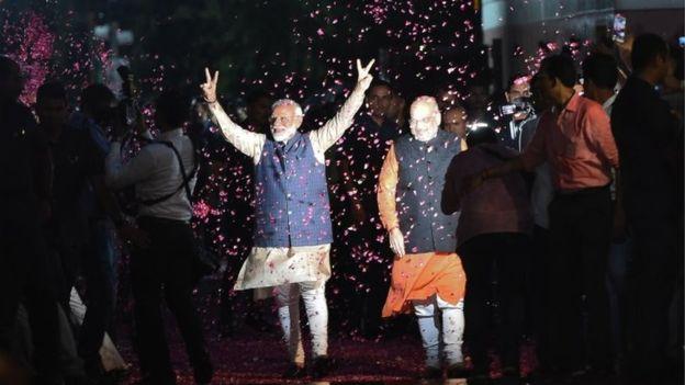 MODI A UN PASSO DALLA VITTORIA DELLE ELEZIONI IN INDIA