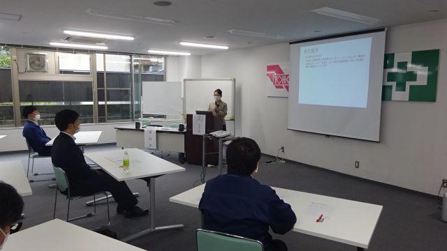 仙台で警備業の皆さんにタイプ別コミュニケーション研修の講師を務めました_DSC00325