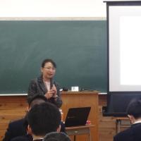 秋田県の県立高校で就職を希望する2年生の面接対策講座で講師を務めました(秋田県羽後町)_DSC03718