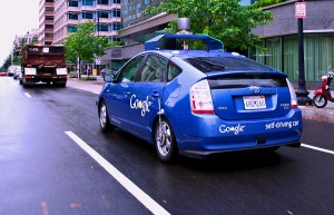 The Google Self Driving Car with limited destination ability
