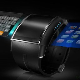 Google Smartwatch: Convert Your Arm into A Keyboard