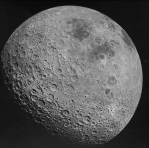 Far Side of the Moon by Nasa.