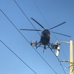 Will using drones to climb cell towers instead of stairs be a bad idea?