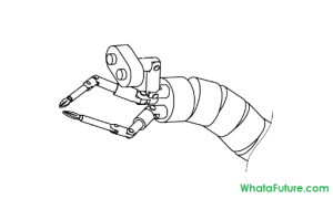 Endoscopic arm of Samsung's surgical robot as shown in patent