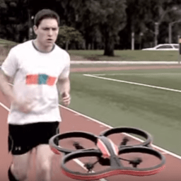 Sony's drone will make your running more interesting