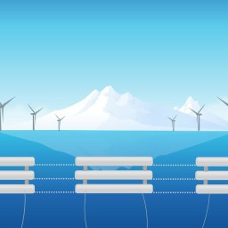 The key to power underwater data centers is tidal energy and heat from servers