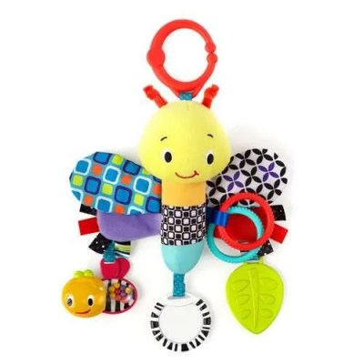 Bright Starts Sensory Plush Pals - Start Your Senses Bee
