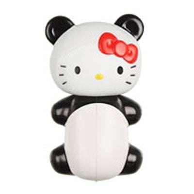Hello Kitty Panda Flipper Toothbrush Holder