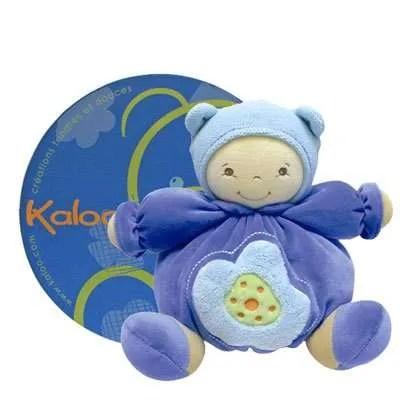Kaloo Blue Poupon with Keepsake Box