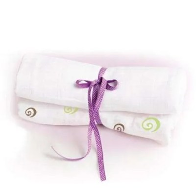 Lulujo Organic Cotton Muslin Swaddling Wrap