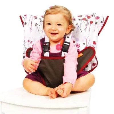 My Little Seat Travel High Chair for Babies and Toddlers - Pocket Full of Posies