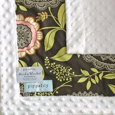 Pipalily Laceworks Minky Blanket
