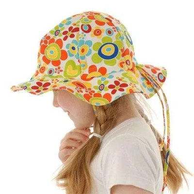 Twinklebelle Grow-With-Me Children's Sun Hat - Sunny Sweetheart