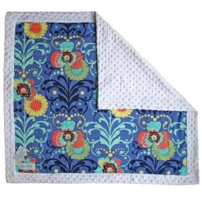 Pippalily Periwinkle Minky Blanket