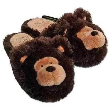Warm Buddy Bear Slippers