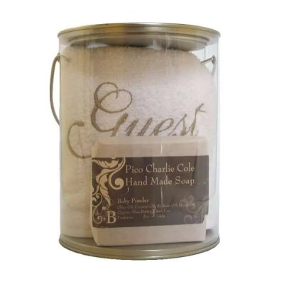 Guest Gift Bucket by Pico Charlie Cole