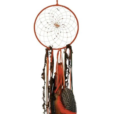 Large Dream Catcher in Rustic Fall Colours