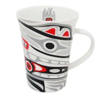 Porcelain Totem Mug