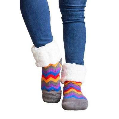 PUDUS Multicolour Chevron Socks