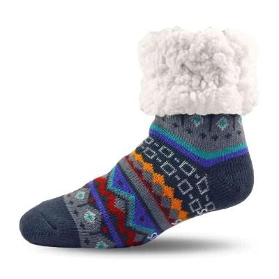 Pudus Nordic Grey Socks